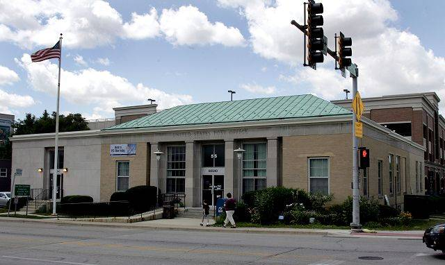 Naperville Bank & Trust is under contract to purchase the post office building in downtown Naperville.