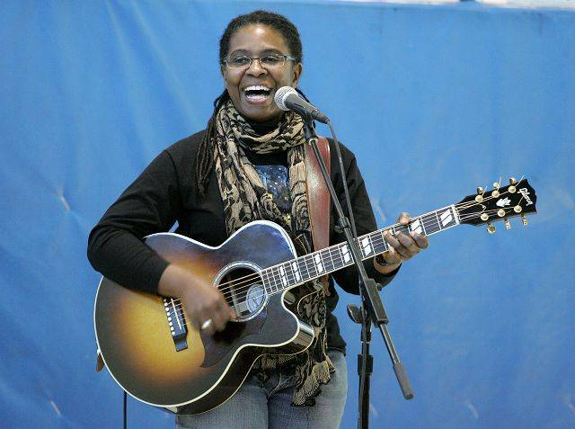 Grammy Award nominee Ruthie Foster performs Friday at Ardmore School in Addison.