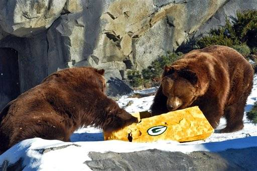 A few Bears-Packers jokes on Game Day