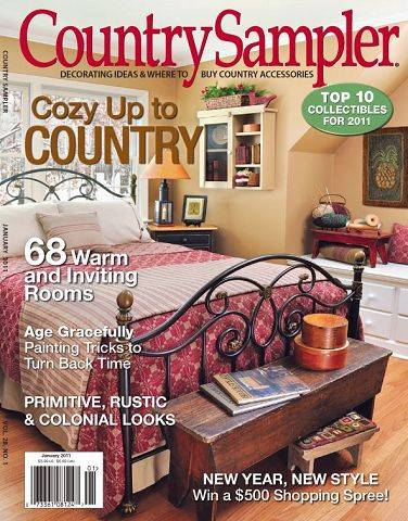 Home gets extra country punch from Country Sampler stylists