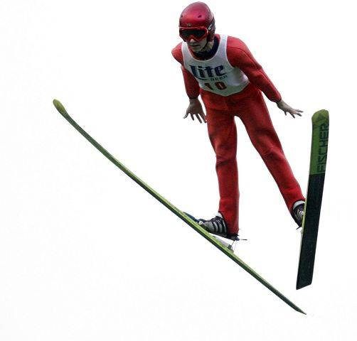 A.J. Brown, 15, of Fox River Grove jumps at a previous Norge Ski Jump Tournament. Brown has qualified for the U.S. Junior Olympic Team every year since he was 10.