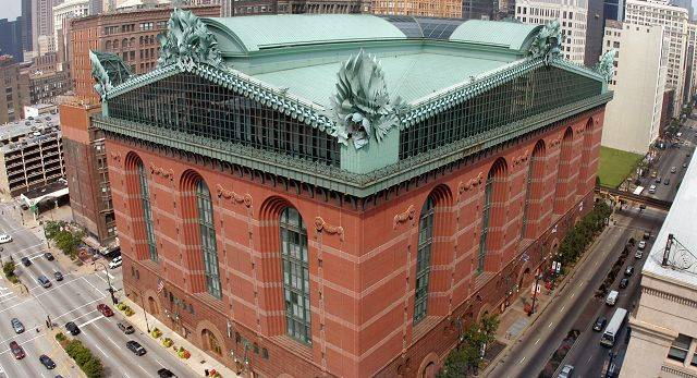 Harold Washington Library.