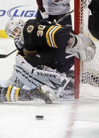 1. Tim Thomas, Boston The Bruins� goalie is putting up staggering numbers to this point. Try a .945 save percentage, 1.81 goals-against average, 24 wins and 7 shutouts. Just give him the Vezina Trophy now.
