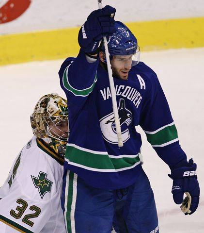 9. Ryan Kesler, Vancouver The annoying Canucks center is having a monster season at plus-19 with 27 goals.