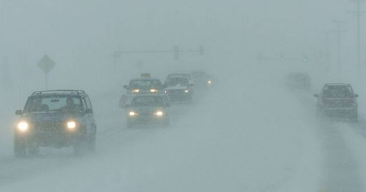 Images: The Blizzard Begins