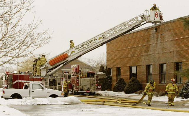 American Gymnastic at 881 Shoreline Drive in Aurora will be closed until fire damage can be repaired, owners said.