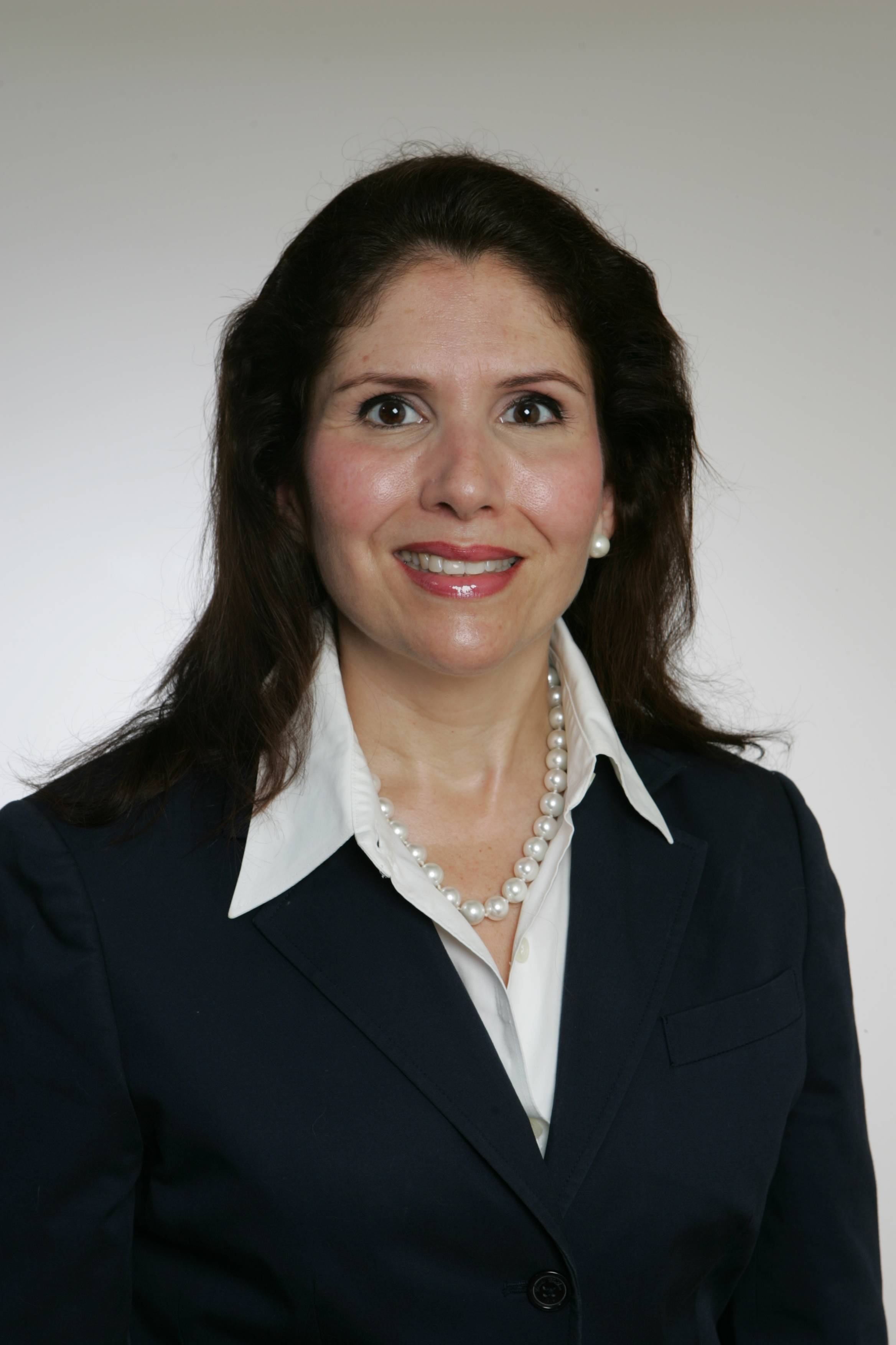 Evelyn Pacino Sanguinetti, running for Wheaton City council