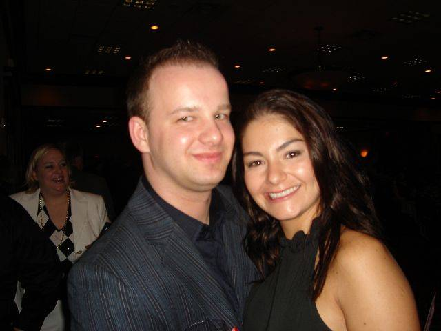 Adam and Manuela Fiedorowicz of Dundee met at the 2007 Sweetheart Auction and later married.