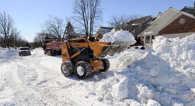 Wheaton had to hire private contractors like Muehfelt Enterprises to clear out some of the city's cul-de-sacs after this week's blizzard and that snow was put in city vehicles and dumped at the nearby county fairgrounds.