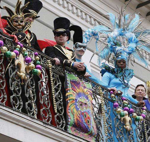 Big Read events include sessions discussing Mardi Gras, the high point of New Orleans' French Creole culture, and other aspects of the city and the way it was affected by Hurricane Katrina.