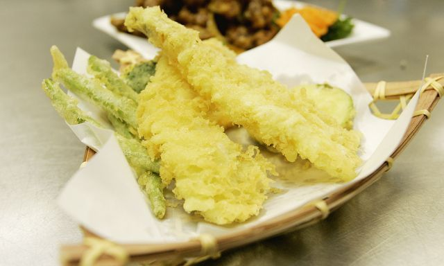 Favorites like shrimp tempura fill out the Japanese side of the menu at Lu's in Glen Ellyn.