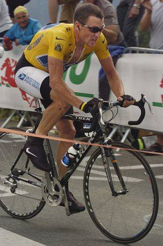 """One of my favorite photos from the year was Lance Armstrong charging up Alpe d'Huez during an individual time trial in the 2004 Tour de France. Seeing him in action that close was a thrill, but shooting a picture like this was even better,"" said Daily Herald photographer Christopher Hankins when he shot this photo seven years ago."