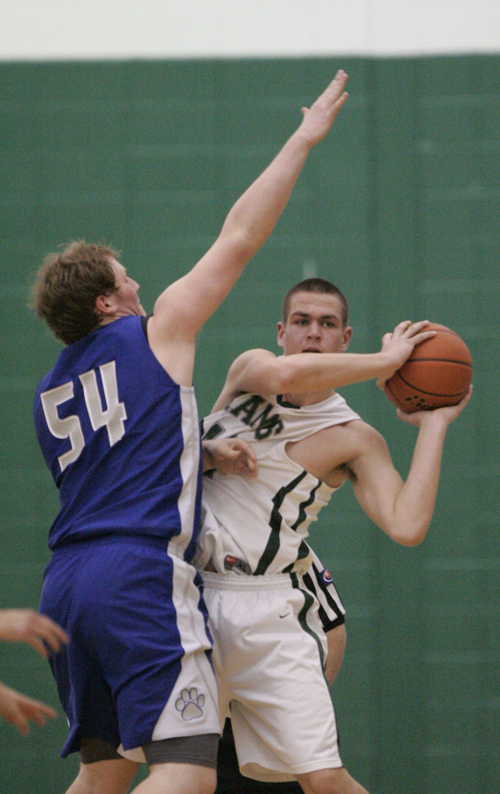 Images from the Vernon Hills at Grayslake Central boys basketball game Tuesday, February 15.