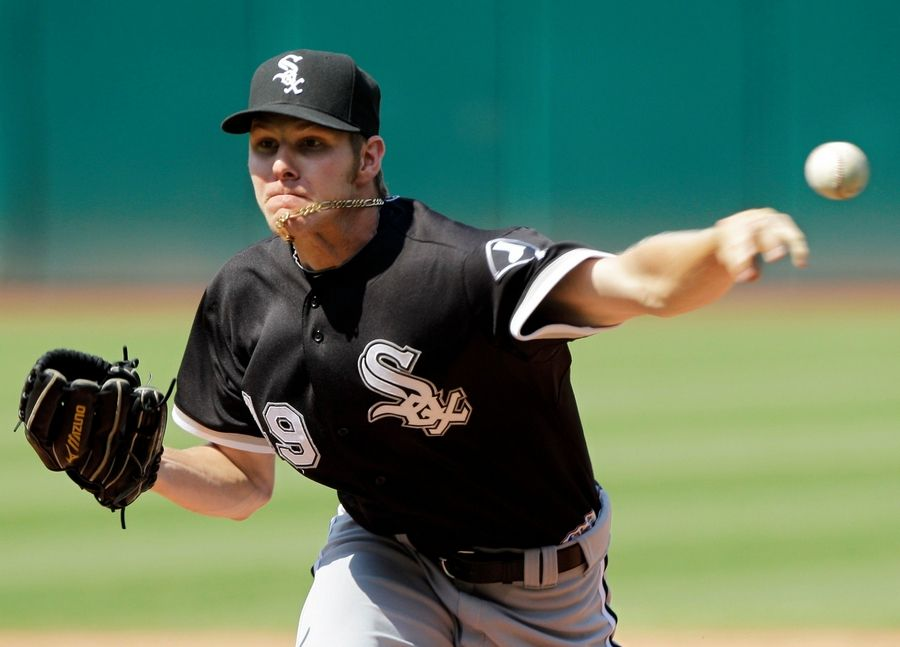 The White Sox' Chris Sale has pitched in only 21 major-league games, but already he is being compared to five-time Cy Young Award winner Randy Johnson.
