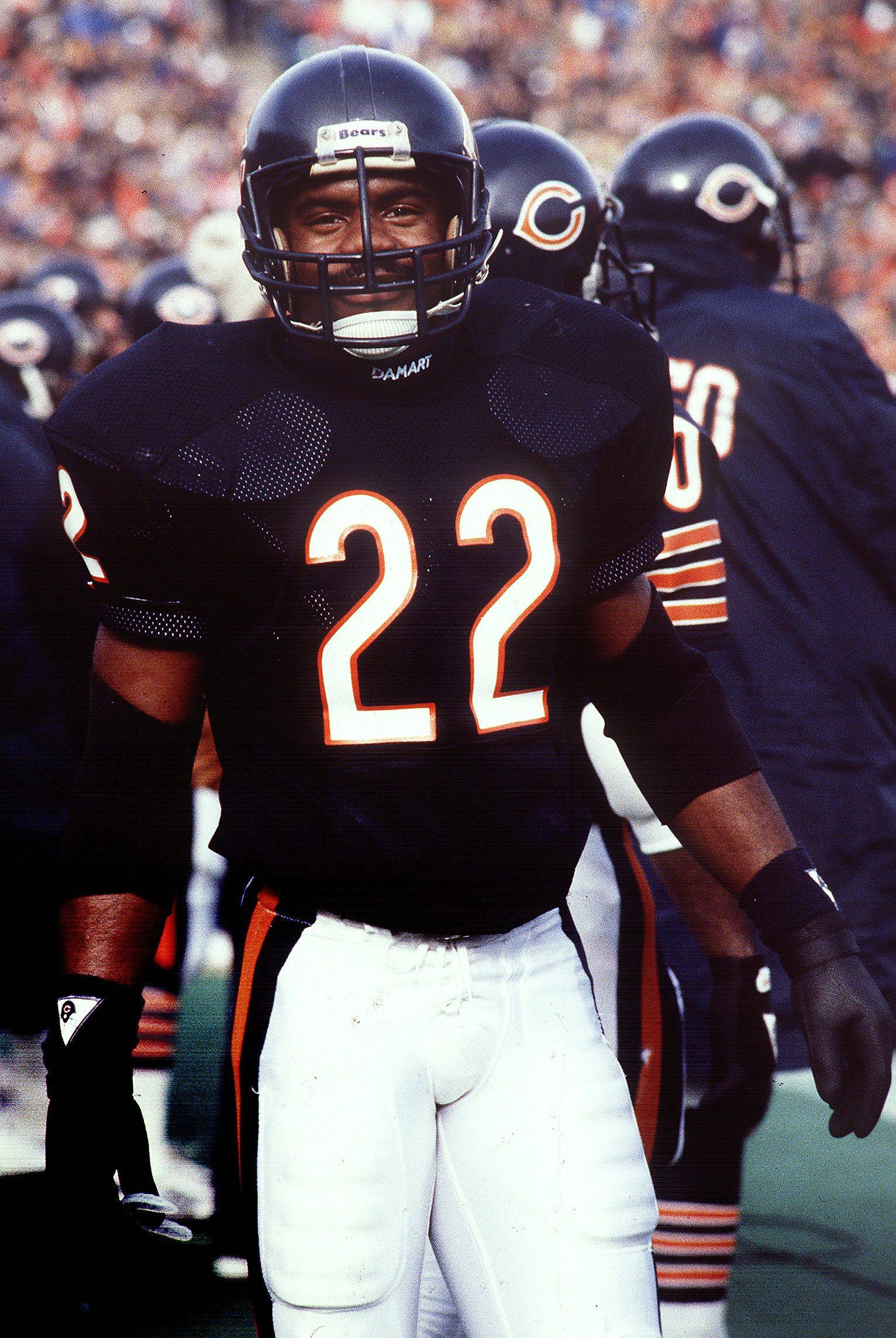 Daily Herald file photo 1985Chicago Bears defensive back Dave Duerson during the 1986 Super Bowl season.
