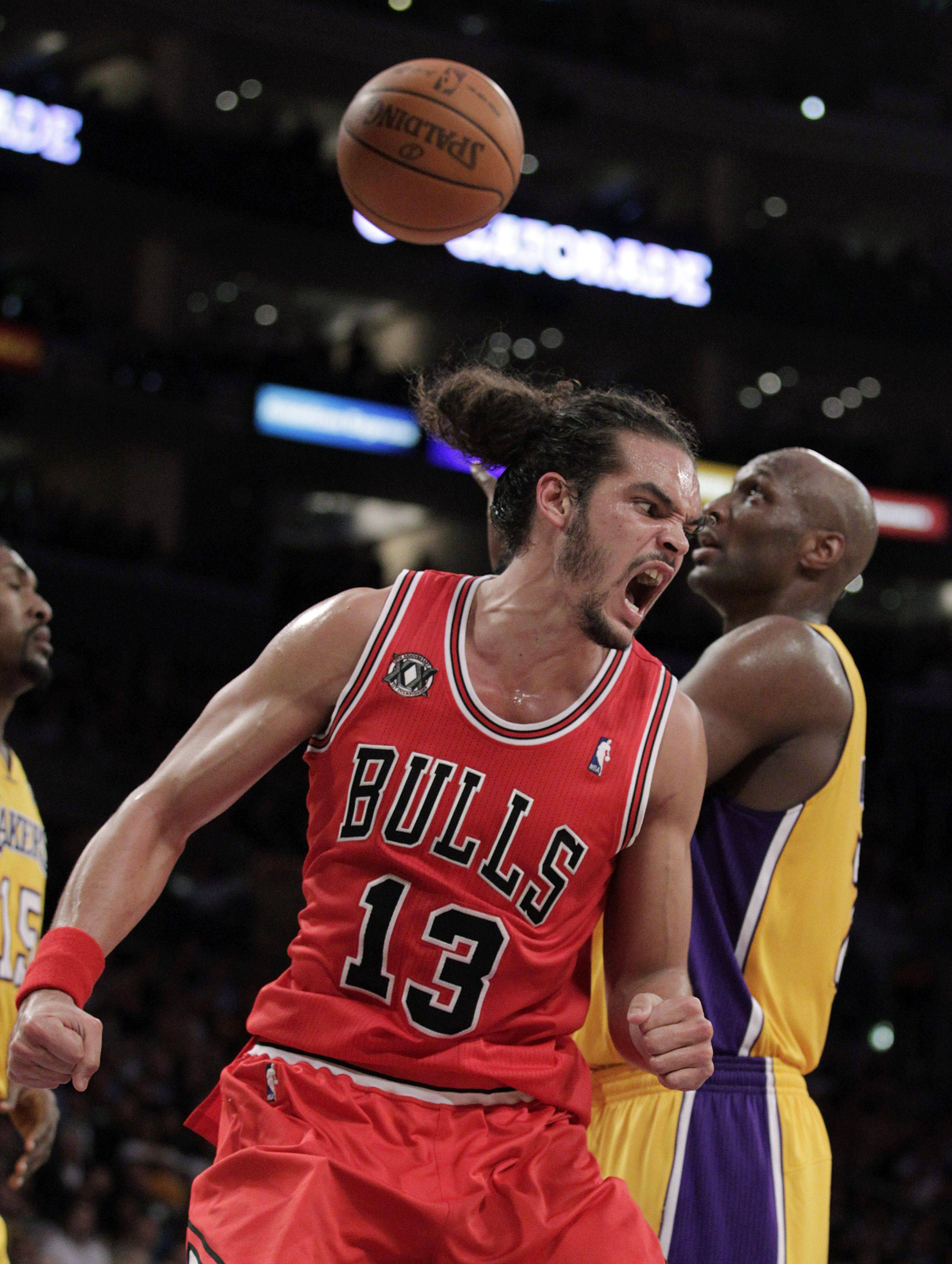 Center Joakim Noah will be back on the floor Wednesday night for Bulls after missing 30 games with a thumb injury.