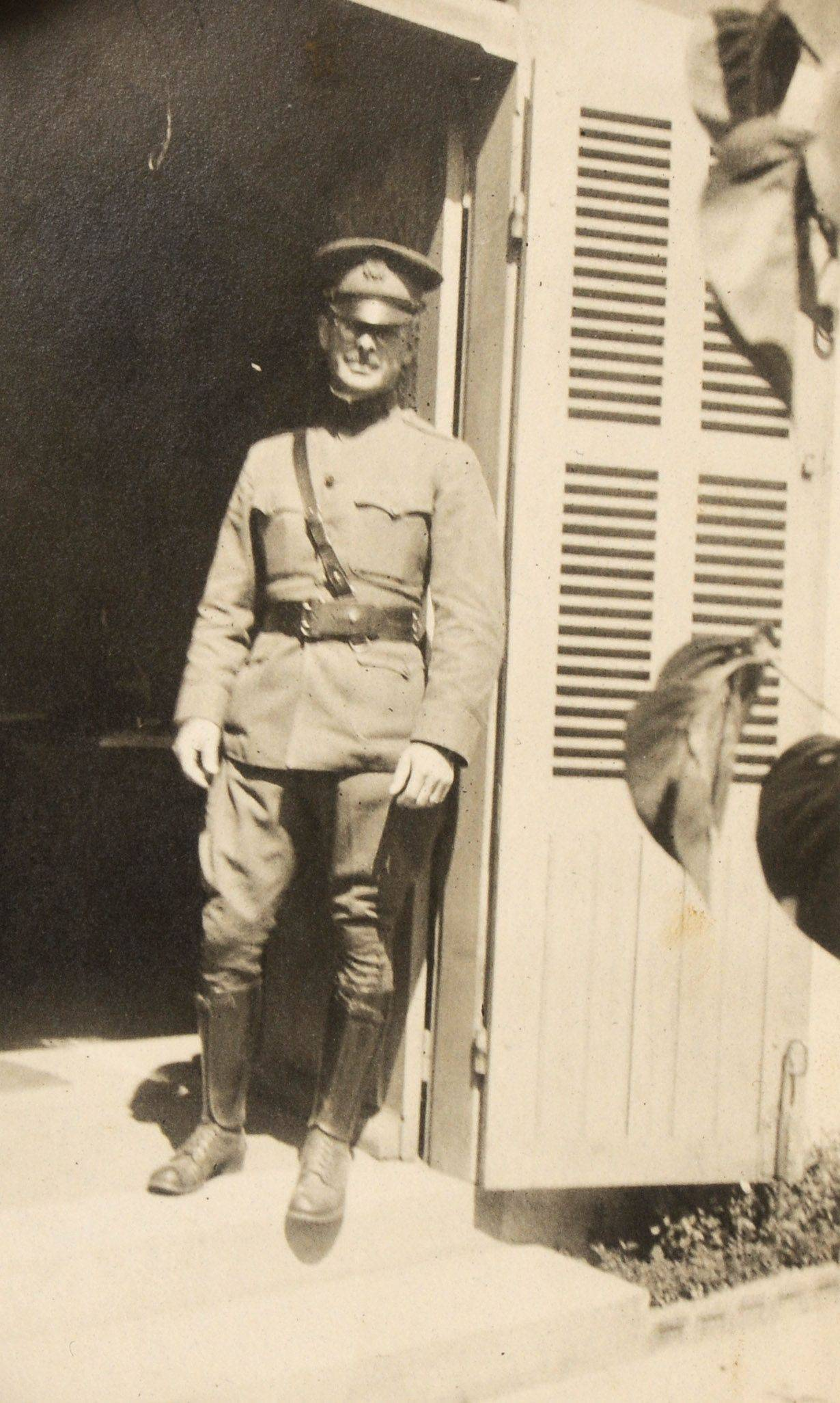 Jeff Bockman's grandfather, John Gault Stevenson, is shown in this photo taken in France during World War I.