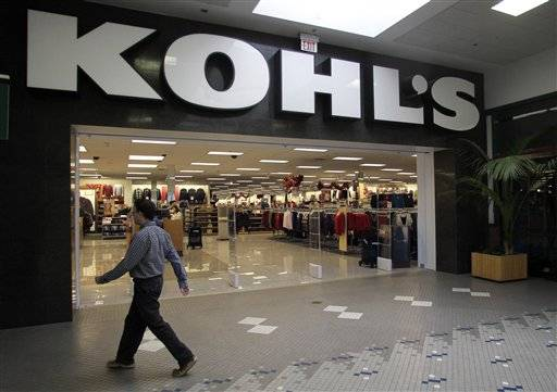 Kohl's Corp.'s fourth-quarter net income increased 14 percent Thursday as merchandise profit margins improved through exclusive brand offerings and tight inventory management.