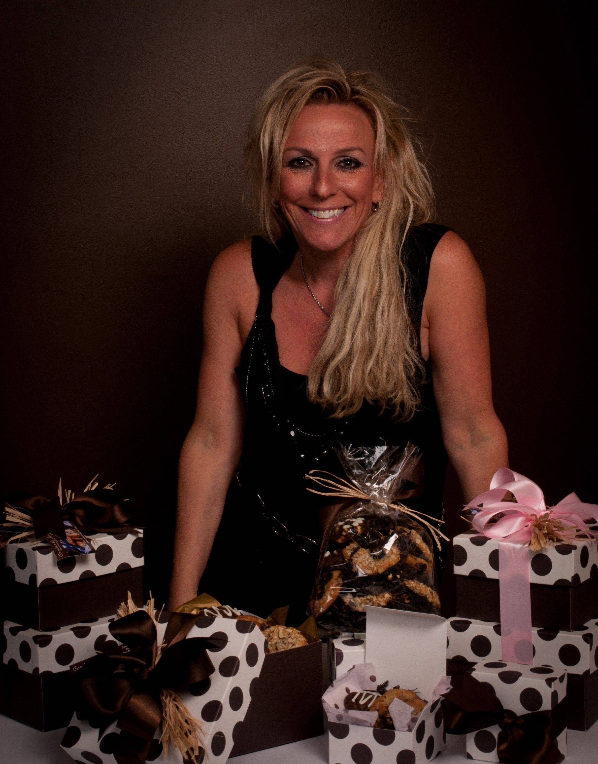 "Joanne ""Joey"" Sherman, owner and CEO of Cookies by Joey in Wheeling, will have her gourmet cookies included in the gift bags for the non-winning nominees of Sunday's Academy Awards."