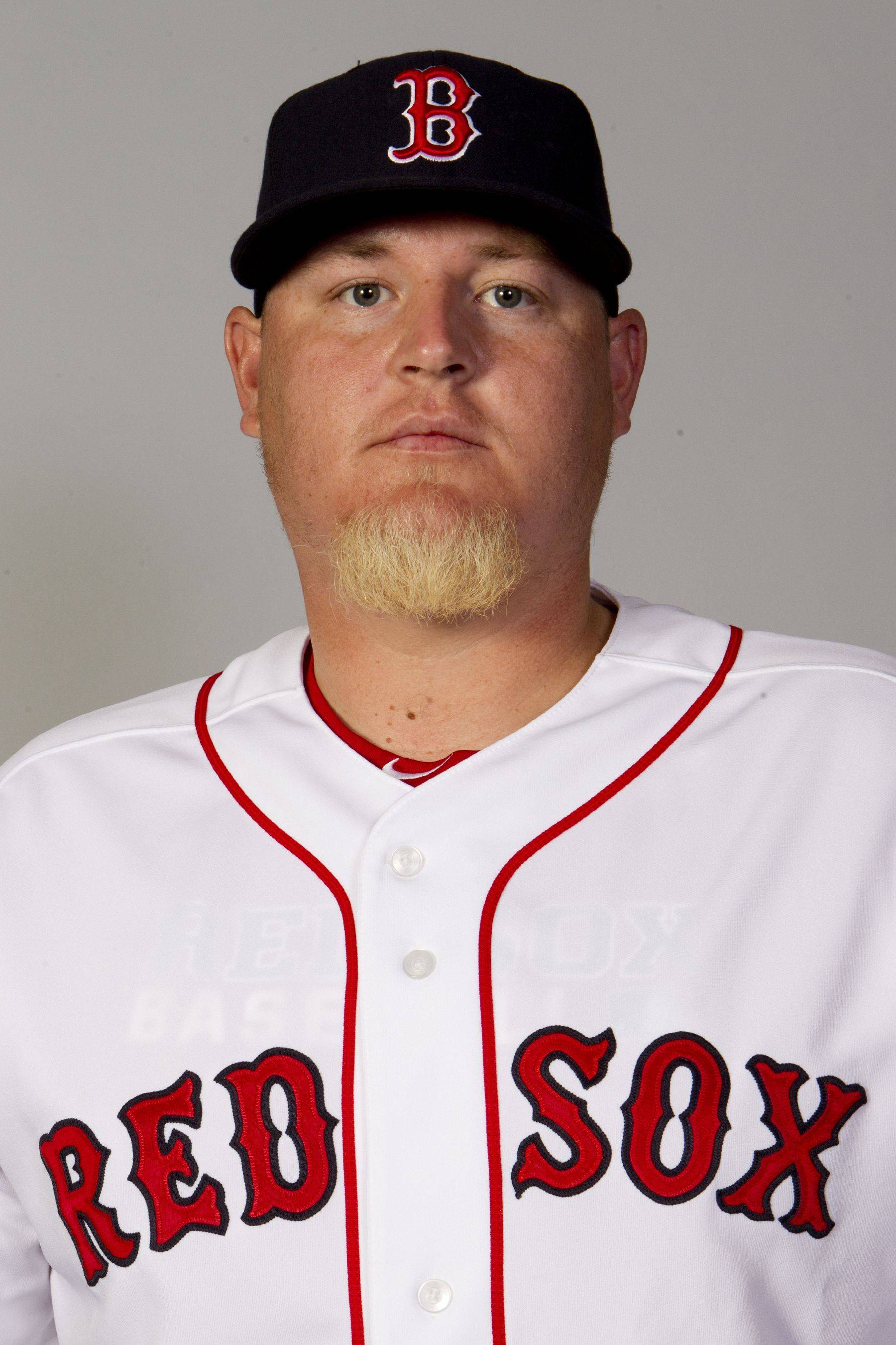 This is a 2011 photo of Bobby Jenks of the Boston Red Sox baseball team. This image reflects the Boston Red Sox active roster as of Sunday, Feb. 20, 2011 when this image was taken.