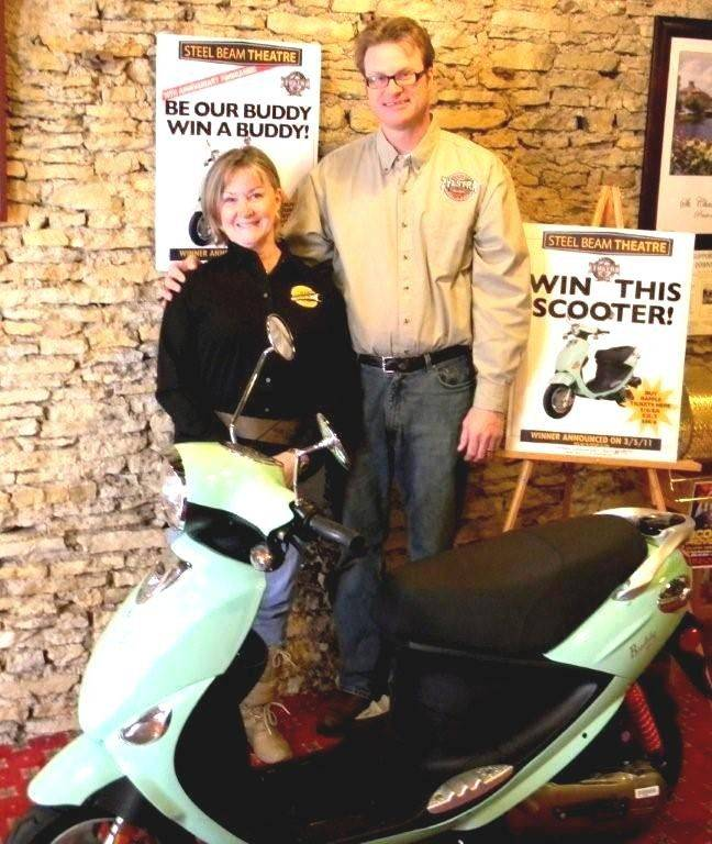 Win scooter in Steel Beam raffle