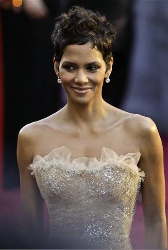 Halle Berry arrives before the 83rd Academy Awards on Sunday in the Hollywood section of Los Angeles.