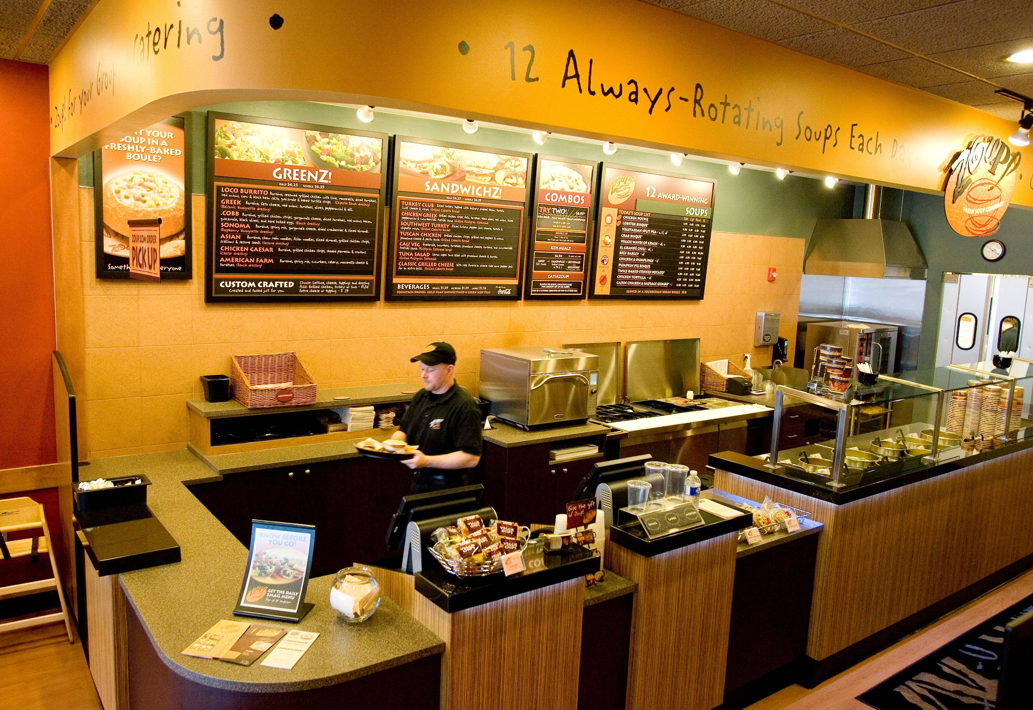 Soup is the focus of a new Zoup franchise that recently opened in Downers Grove.