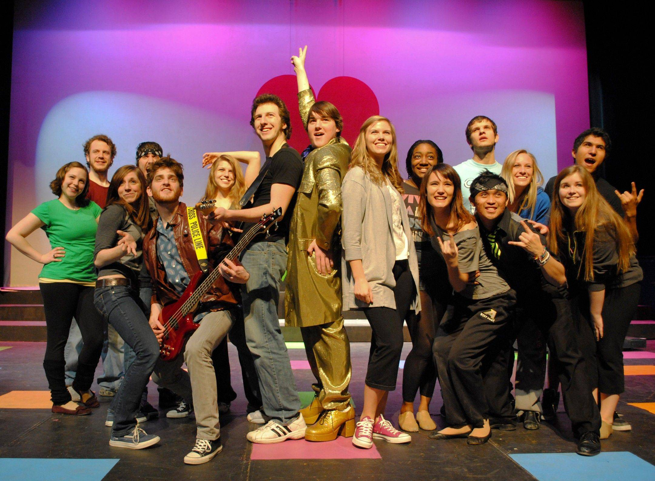 """The Wedding Singer,"" based on the movie of the same name, opens a four-night run March 3 at Naperville's North Central College."