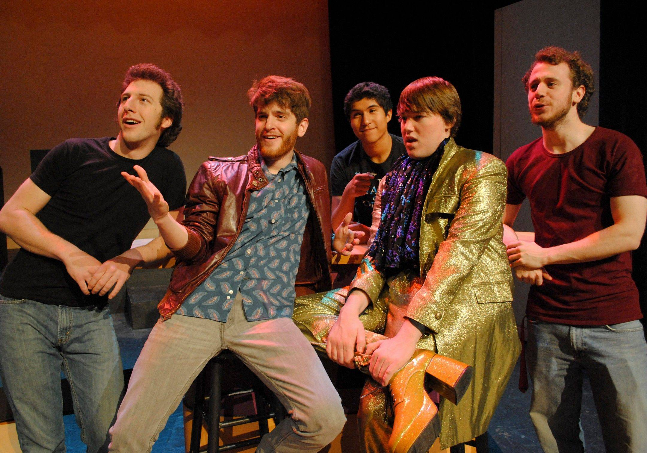 "North Central College's production of ""The Wedding Singer"" follows the movie's basic storyline but with some twists in both the plot and the music."