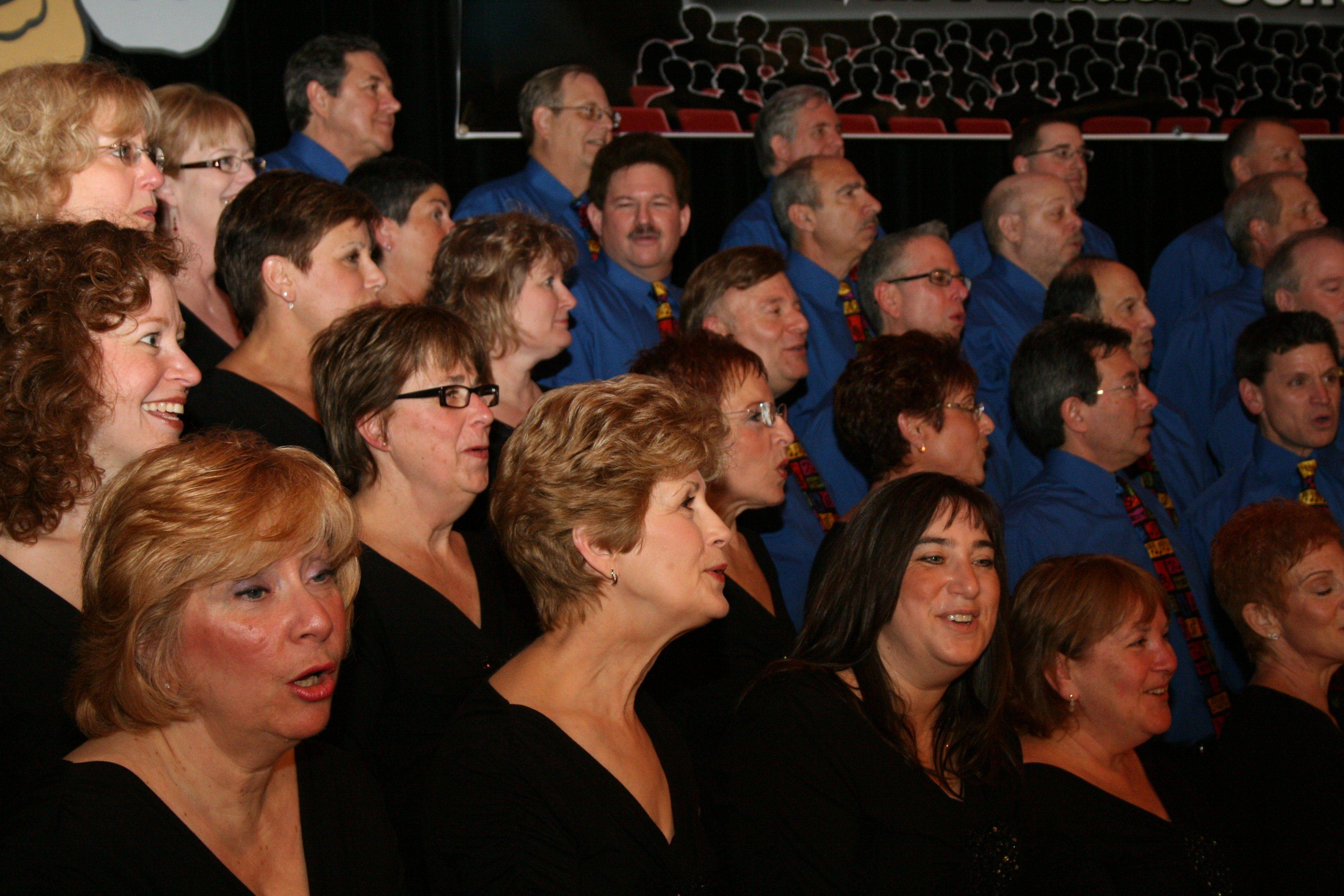 The BG Singers will perform in concert Friday and Saturday.