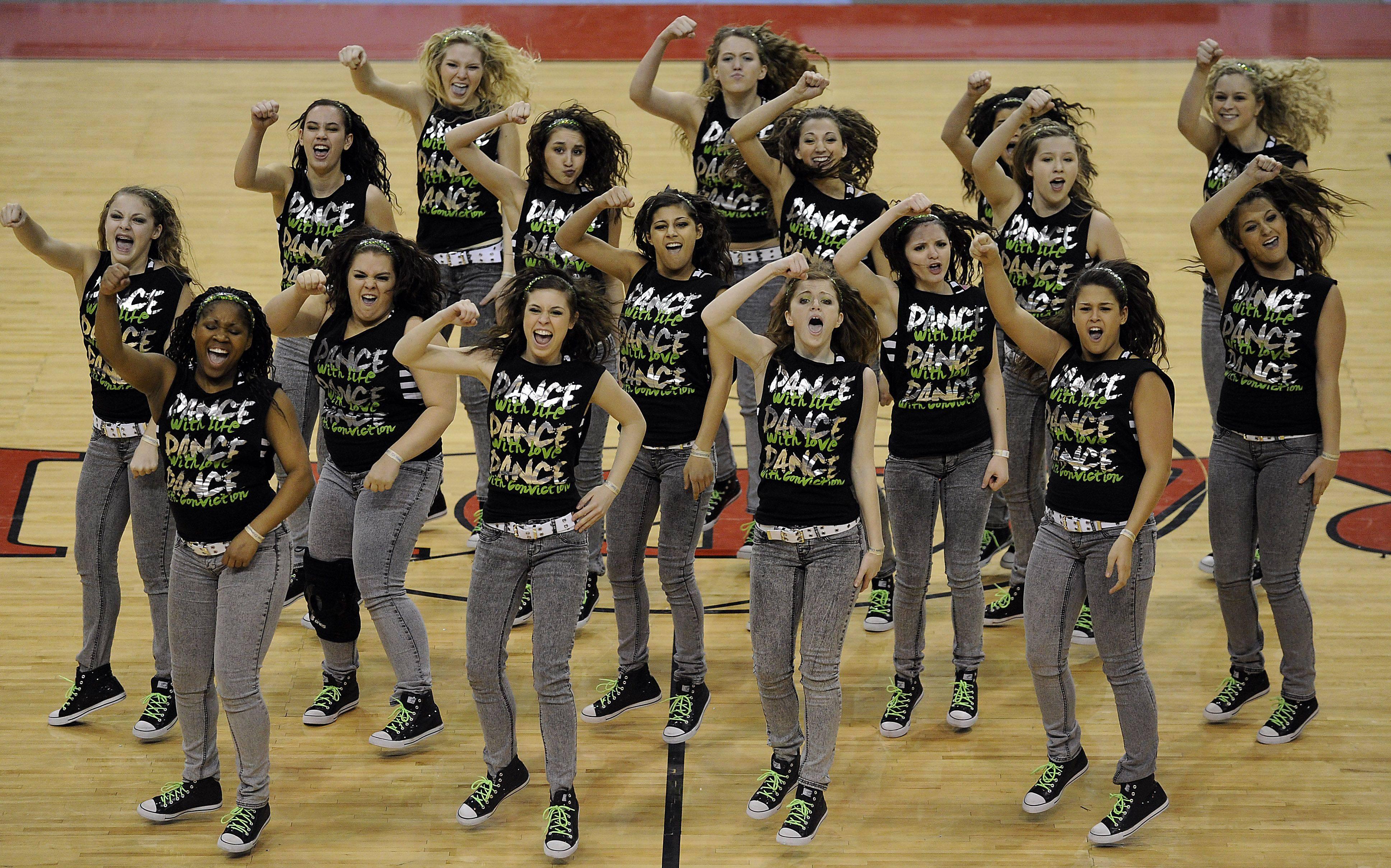 Suburban poms teams dance, kick their way to the top