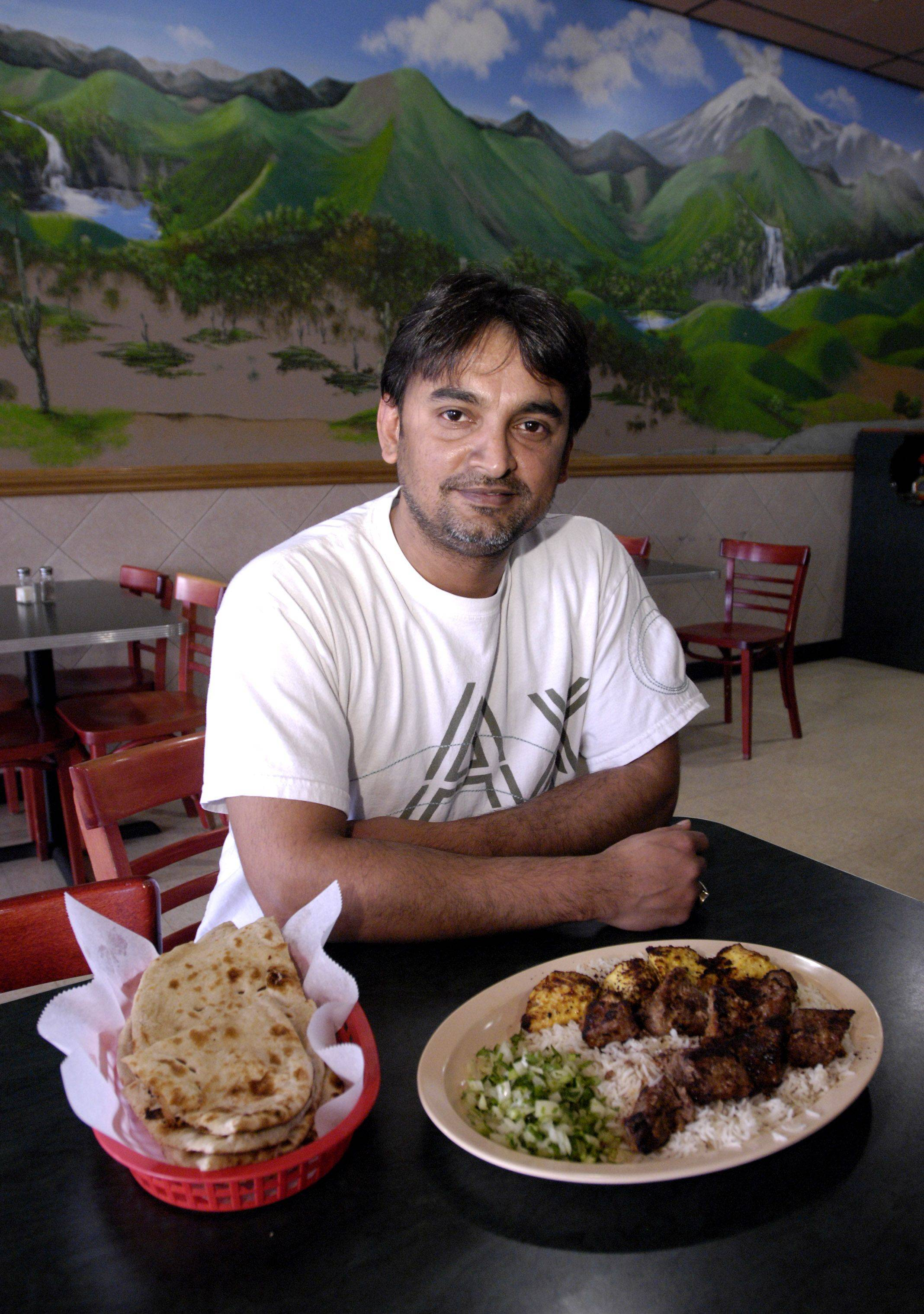 Monty Sayed, owner of Pita and Kabobz restaurant in Schaumburg, also has staged South Asian music concerts at the Sears Centre in response to the area's growing Asian population.