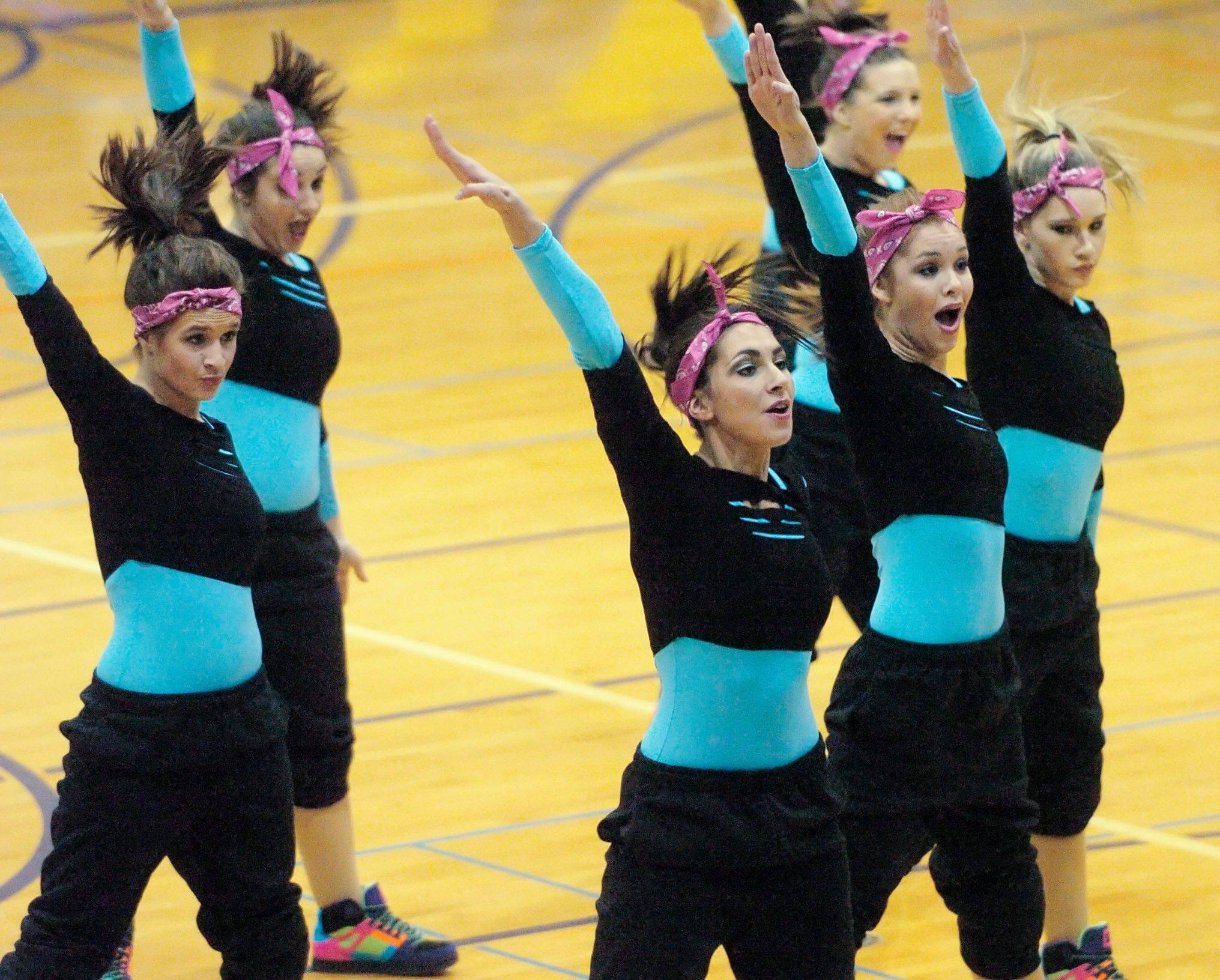The Fenton High School Hip Hop team is taking this routing to the state championships.