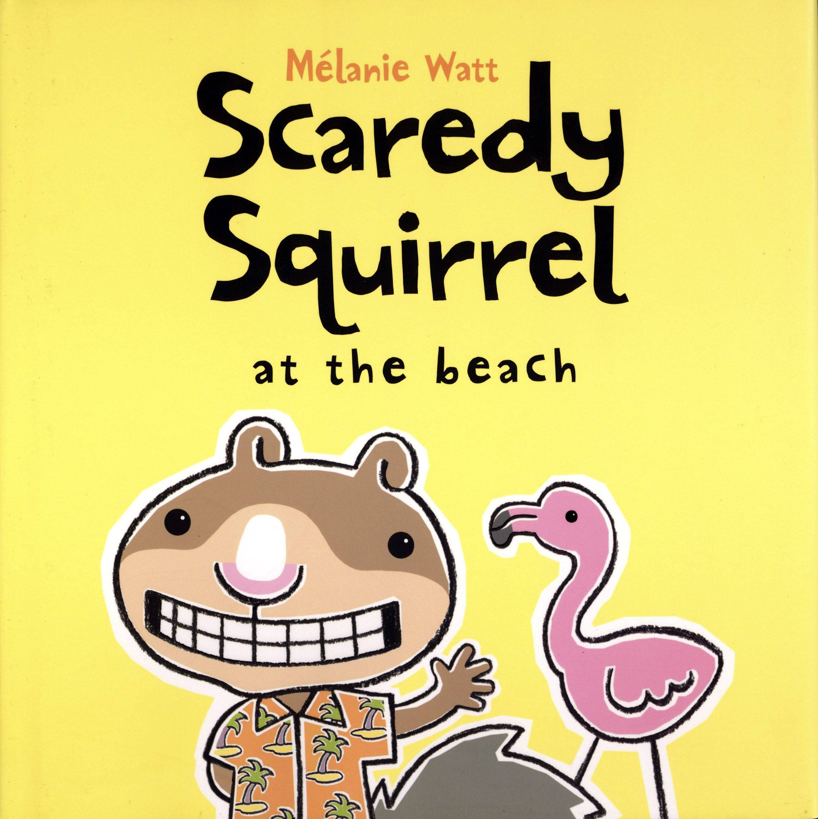 Funny books, like those from the Scaredy Squirrel series, are popular with young school-age children and may help cheer up a child in a crisis as part of the Lisle-Woodridge Fire Protection District's participation in the REACH a Child program.
