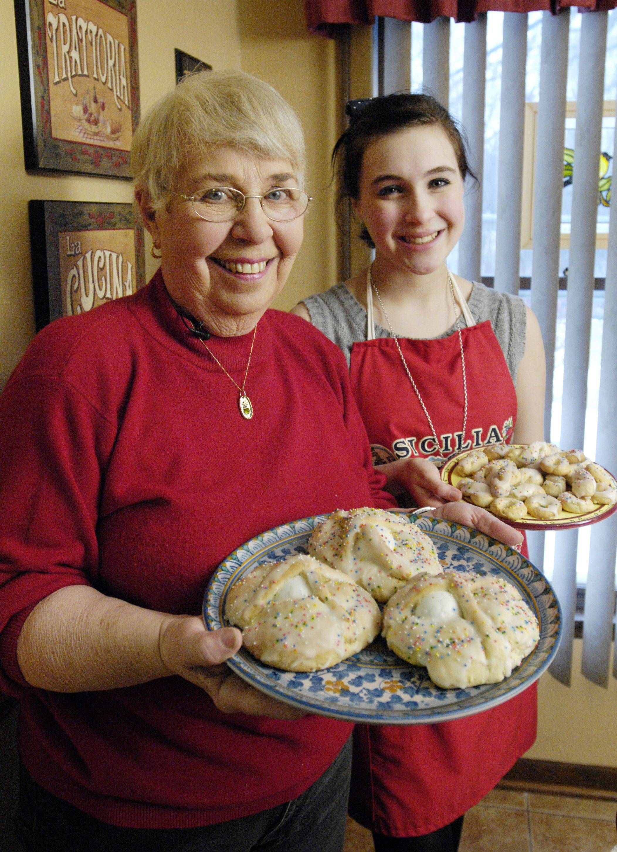 Grandmother passes traditions to new generation