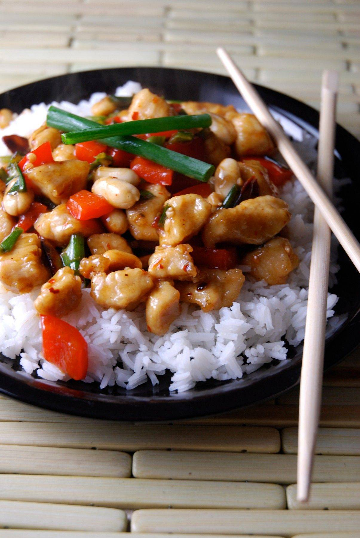 When it's just the two of you, this Kung Pao Chicken satifies the takeout urge.