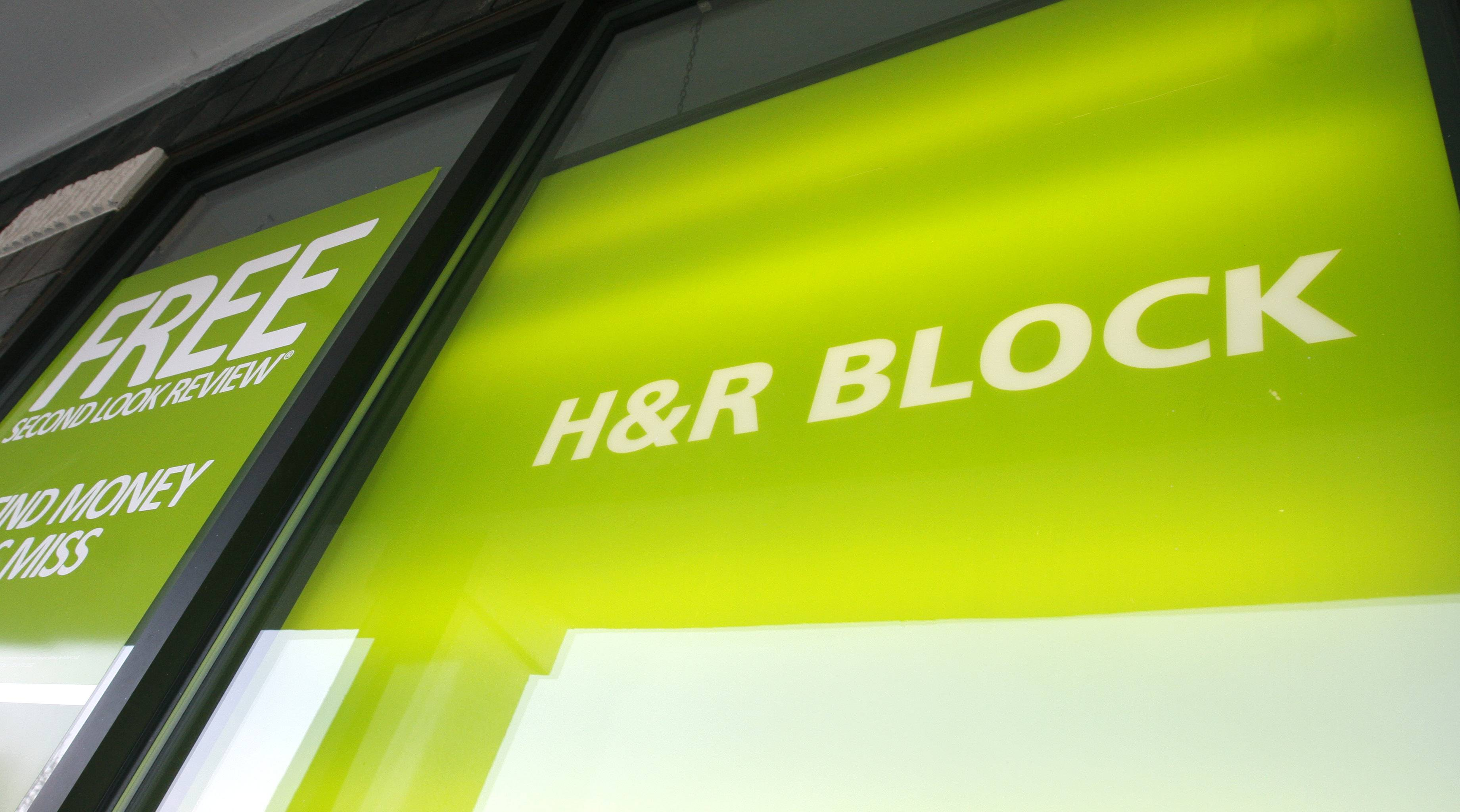 H&R Block Inc. on Wednesday posted a net loss for its fiscal third quarter, but offered positive data on the first part of tax season.