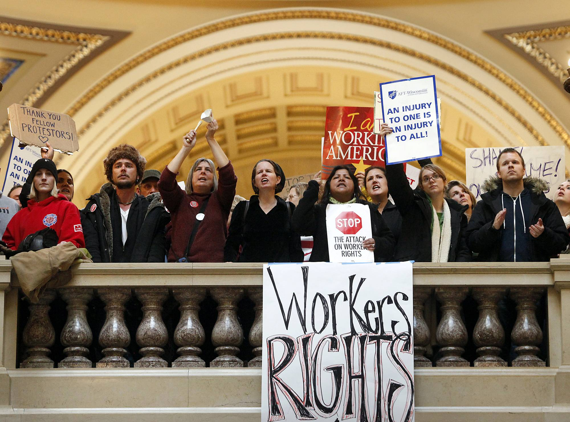 With the labor movement suffering an epic defeat in Wisconsin and perhaps other states, union leaders plan to use the setback to fire up their members nationwide and mount a major counterattack against Republicans at the ballot box in 2012.