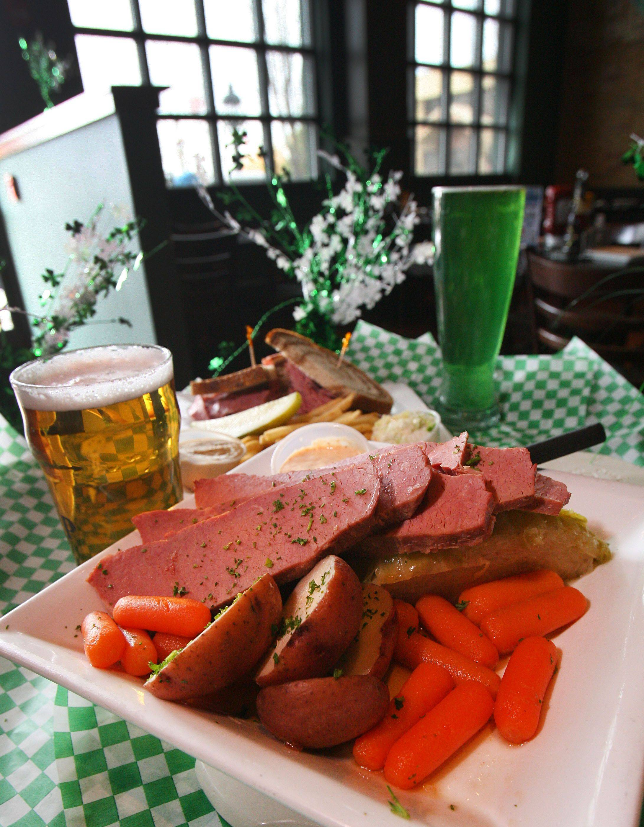 McCarthy's in Vernon Hills will be serving up thousands of pounds of corned beef — and pouring plenty of beer — for St. Patrick's Day.