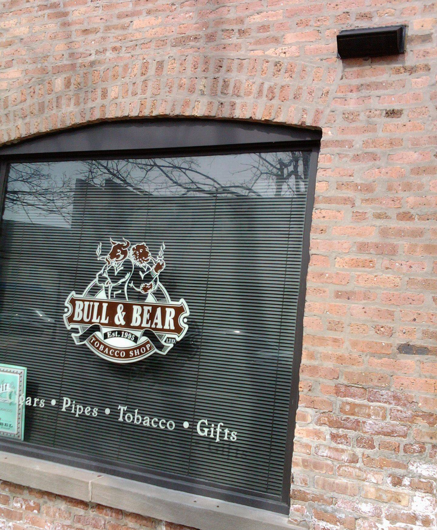 The Bull & Bear tobacco shop in St. Charles.