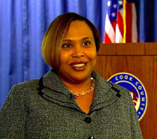 Carla Oglesby, the indicted deputy chief of staff for former Cook County Board President Todd Stroger, is collecting unemployment, according to a spokeswoman for Stroger successor Toni Preckwinkle.
