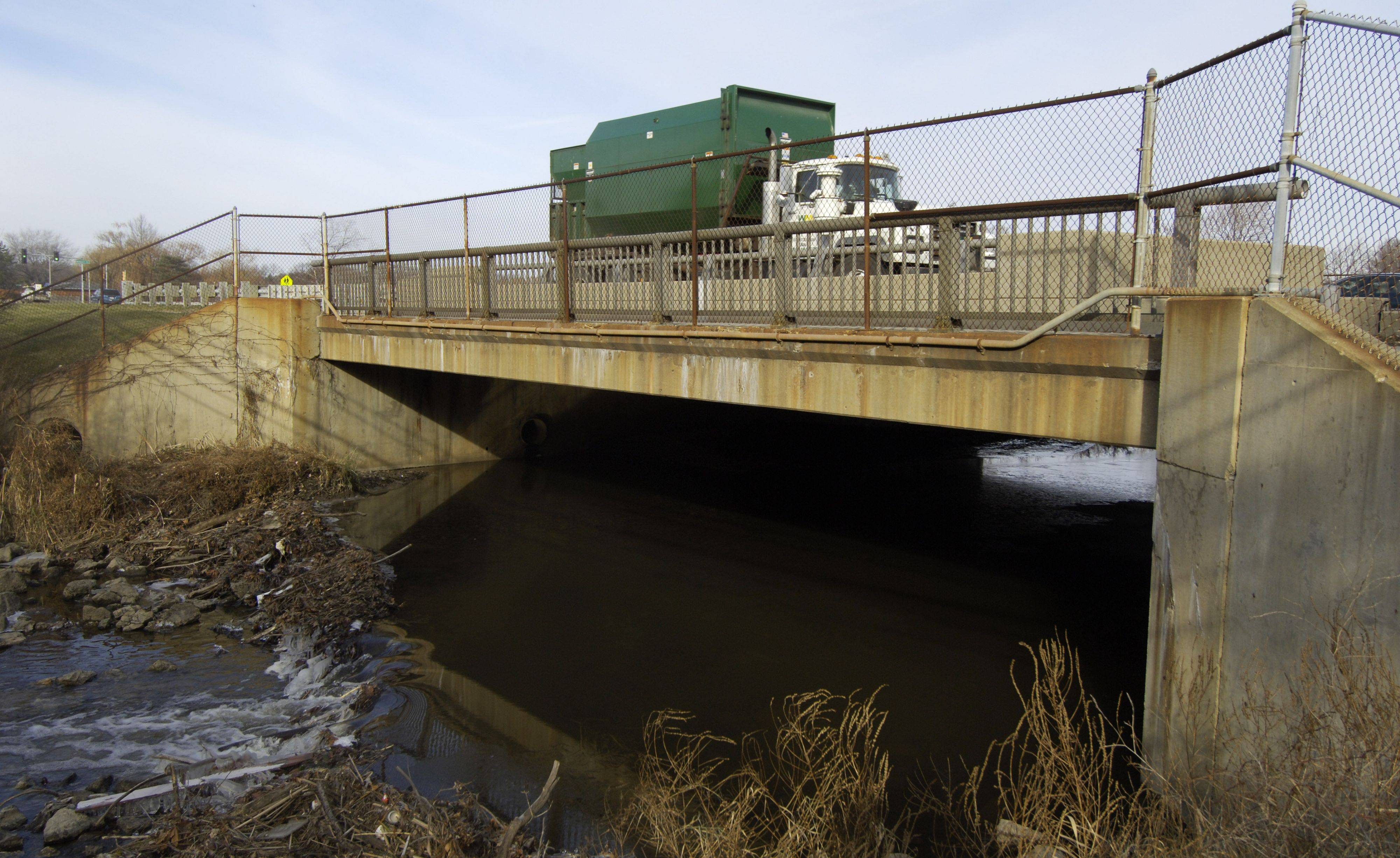 "The Algonquin Road bridge over Salt Creek in Rolling Meadows is in line for a $1.6 million rebuilding project to begin next week because inspectors last year deemed it ""structurally deficient"" and in ""critical"" need of repairs."