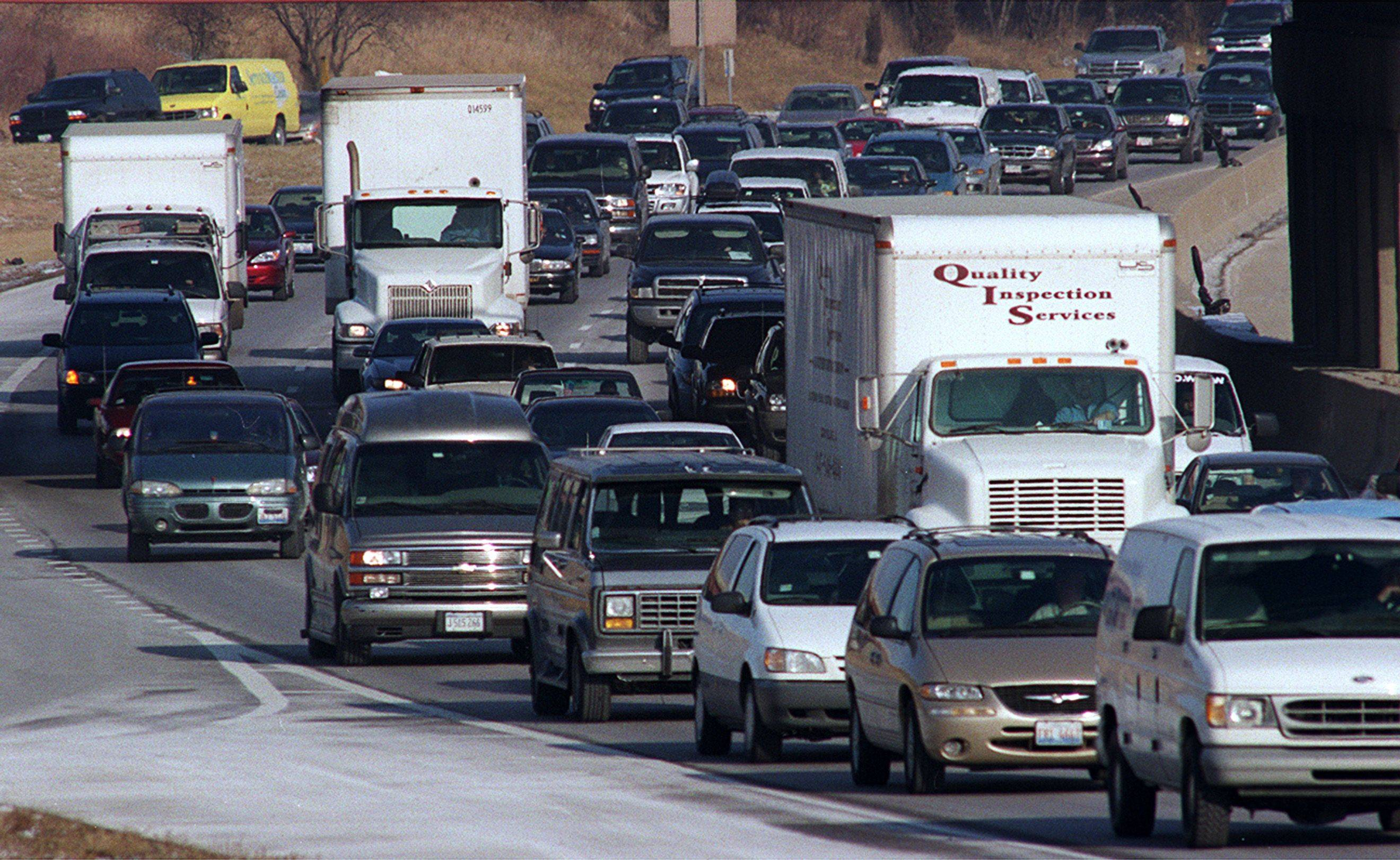 A new traffic study shows that Chicago ranks third in congested commutes in the country. Experts say we lose 40 hours a year sitting in traffic and could oftentimes ride a bike faster to work.
