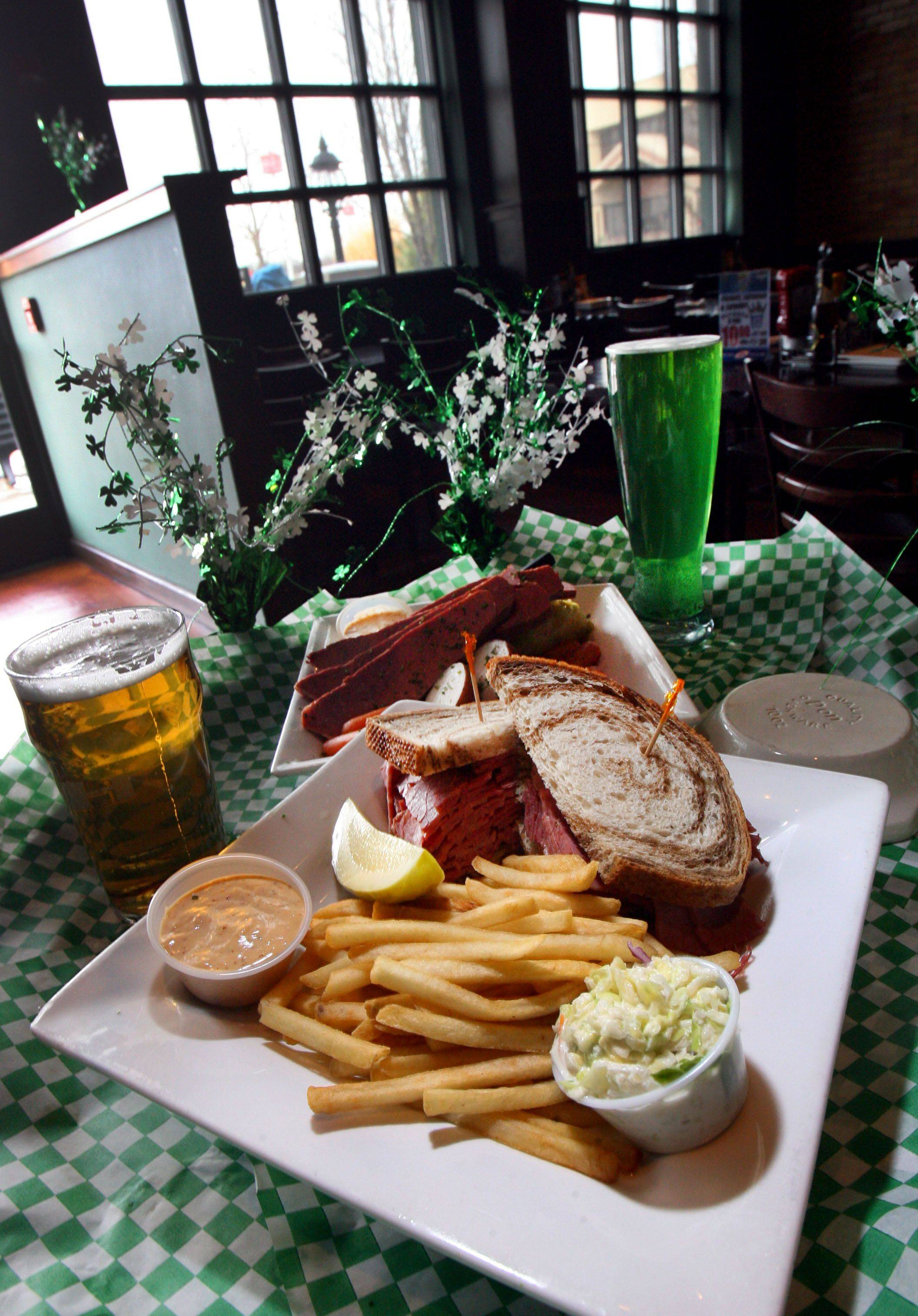 McCarthy's in Vernon Hills will be serving up thousands of pounds of corned beef -- and pouring plenty of beer -- for St. Patrick's Day.
