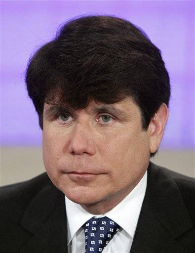 The impeached former governor of Illinois, Rod Blagojevich says he doesn't have enough money to mount a defense for his retrial.