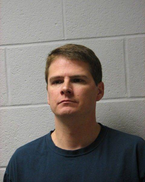 Brooke Beal, in a police photo after his arrest