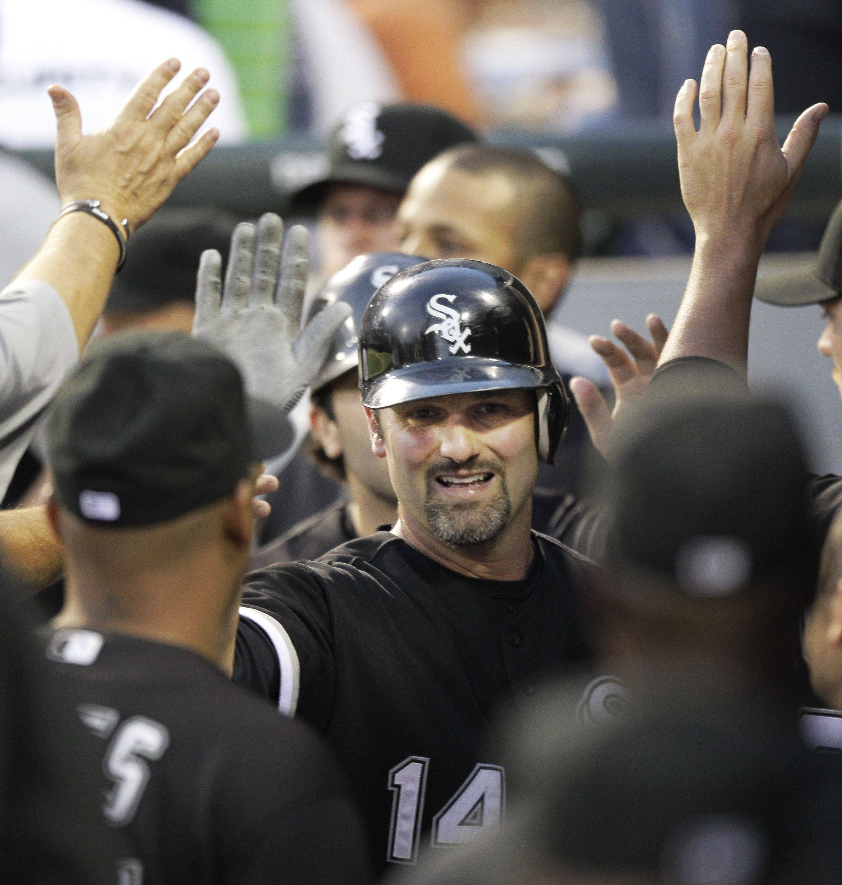 Paul Konerko is within striking distance of some of Frank Thomas' career numbers with the White Sox.