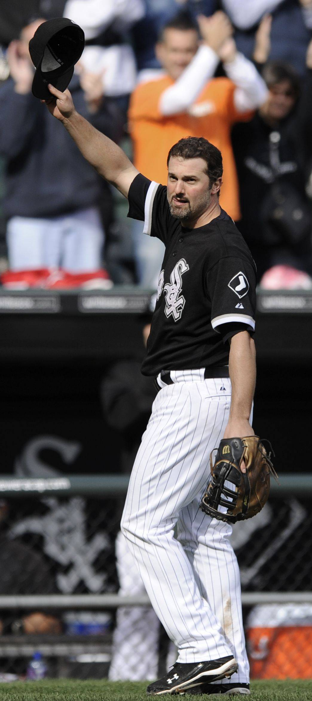 "Could Paul Konerko one day eclipse Frank Thomas and be known as the best player in White Sox history? Heck, no, he says. And forget about the second-best player as well. ""I don't care what I do,"" Konerko said, ""I'm never going to be better than Harold (Baines)."""