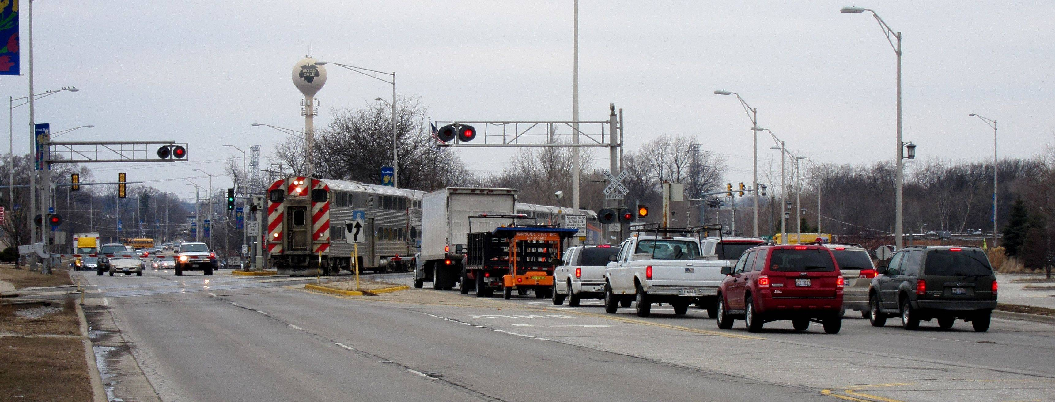 An advisory question on the April 5 ballot will ask Wood Dale voters whether they would like the city to proceed with planning and construction of a grade separation at Irving Park Road and Wood Dale roads. Several candidates in the city council race say they are opposed to the project -- despite the outcome of the referendum.