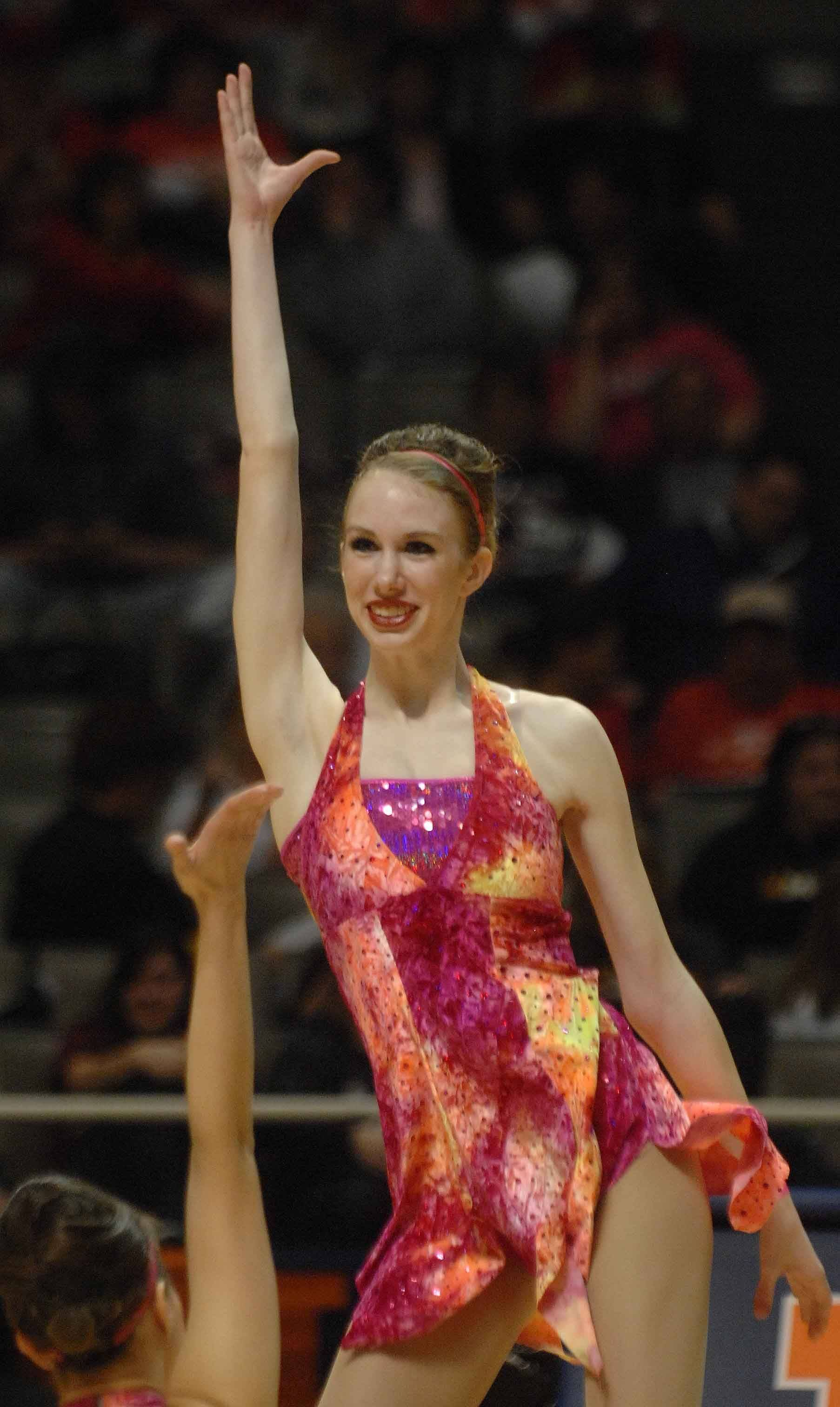 Lexy Neville of Waubonsie Valley performs during the IDTA finals Saturday.